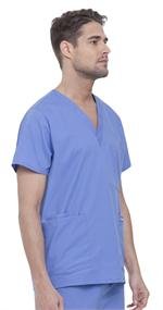 Landau 7489 Landau 7489 Men's 5-Pocket Scrubs Tops