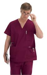 Landau 7489 Landau Men's 5-Pocket Scrub Top