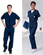 Landau 7502 Landau 7502 Men's and Women's Unisex Reversible Scrubs Tops