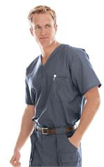 Landau 7594 Landau 7594 Men's Vented Scrub Top